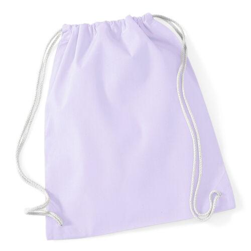 Cotton Gymsac Sacca Da Palestra Yoga Pilates POMPA Sports Palestra Coulisse Tote Bag PE WM110