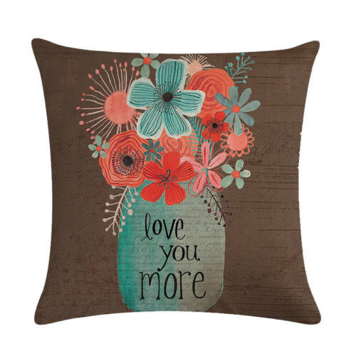 Happy Life Camper Cushions Cover Bloom Life Is Like A Camera Pillows  Linen