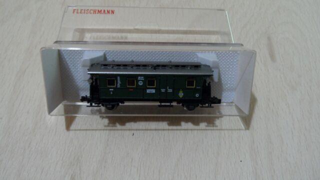 Fleischmann 8065 Durchgangswagen Kl.3 mit Gepäckabteil OVP