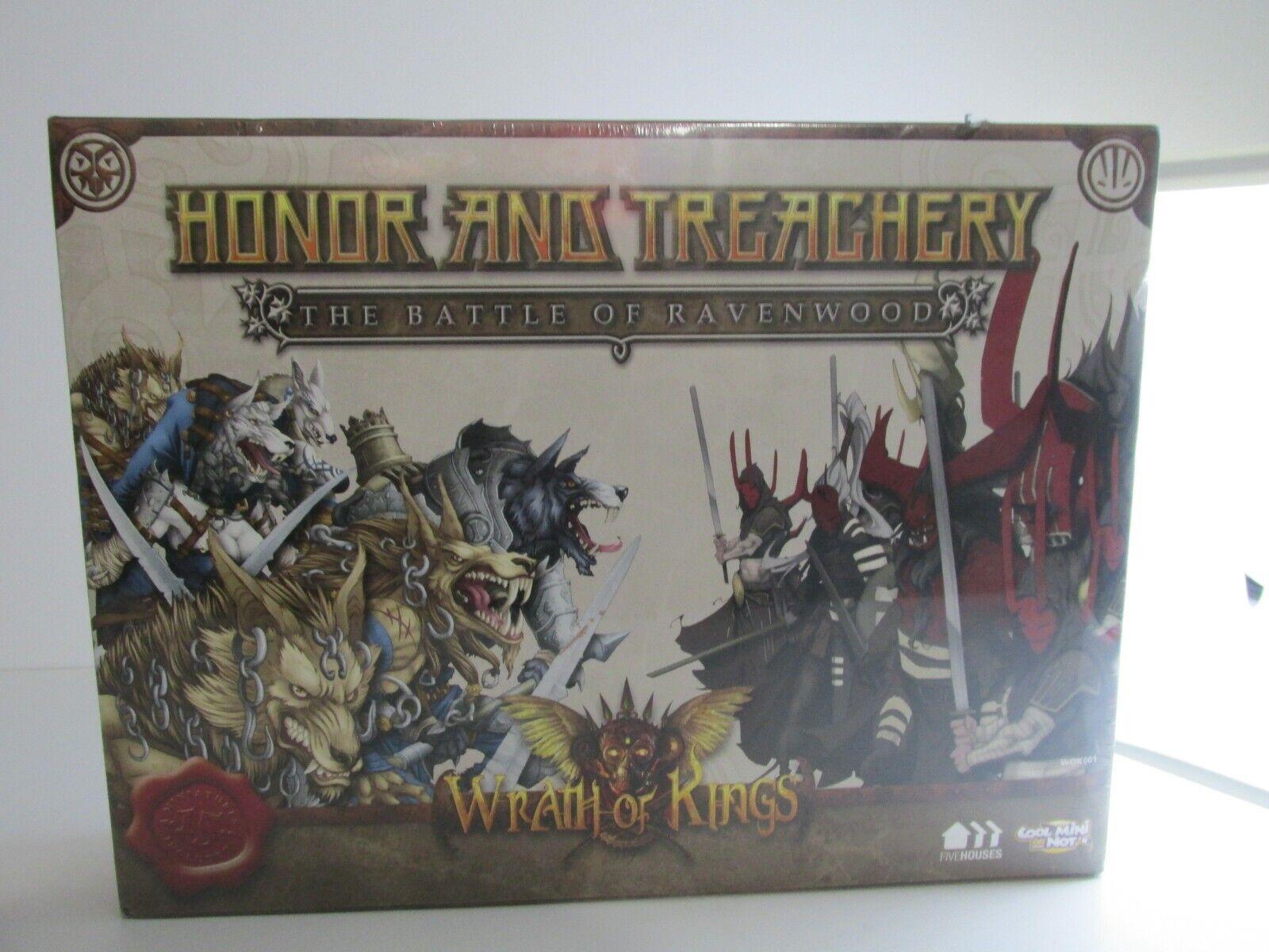 Cmon wok001 zorn kings-honor & verrat 2 spieler starter versiegelt