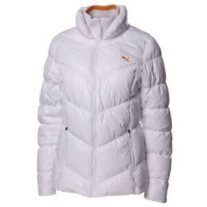 competitive price ea06a 5192f Dettagli su Puma giacca donna piumino sport bianca taglia 44 quasi nuova!