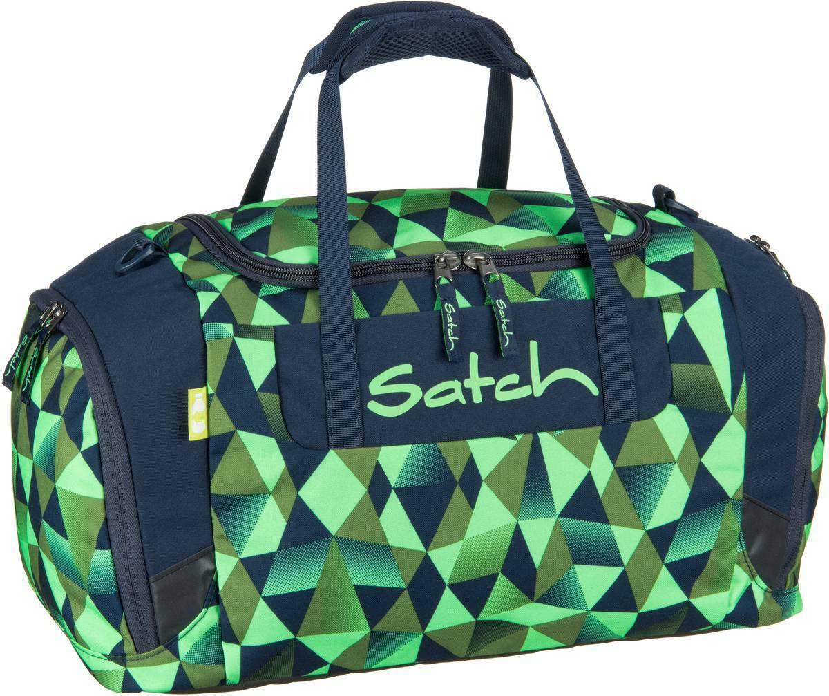 satch Sportbag Sporttasche Tasche Gravity Jungle Grün Grau Neu