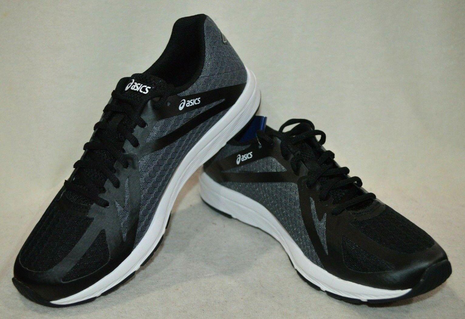 ASICS AMPLICA nero bianca Lightweight Wouomo Running scarpe-Dimensione 9.5 10.5 11 NWB