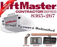 Liftmaster 8365-267 - Premium Series 1/2 Hp Ac Chain Drive Garage Door Openers