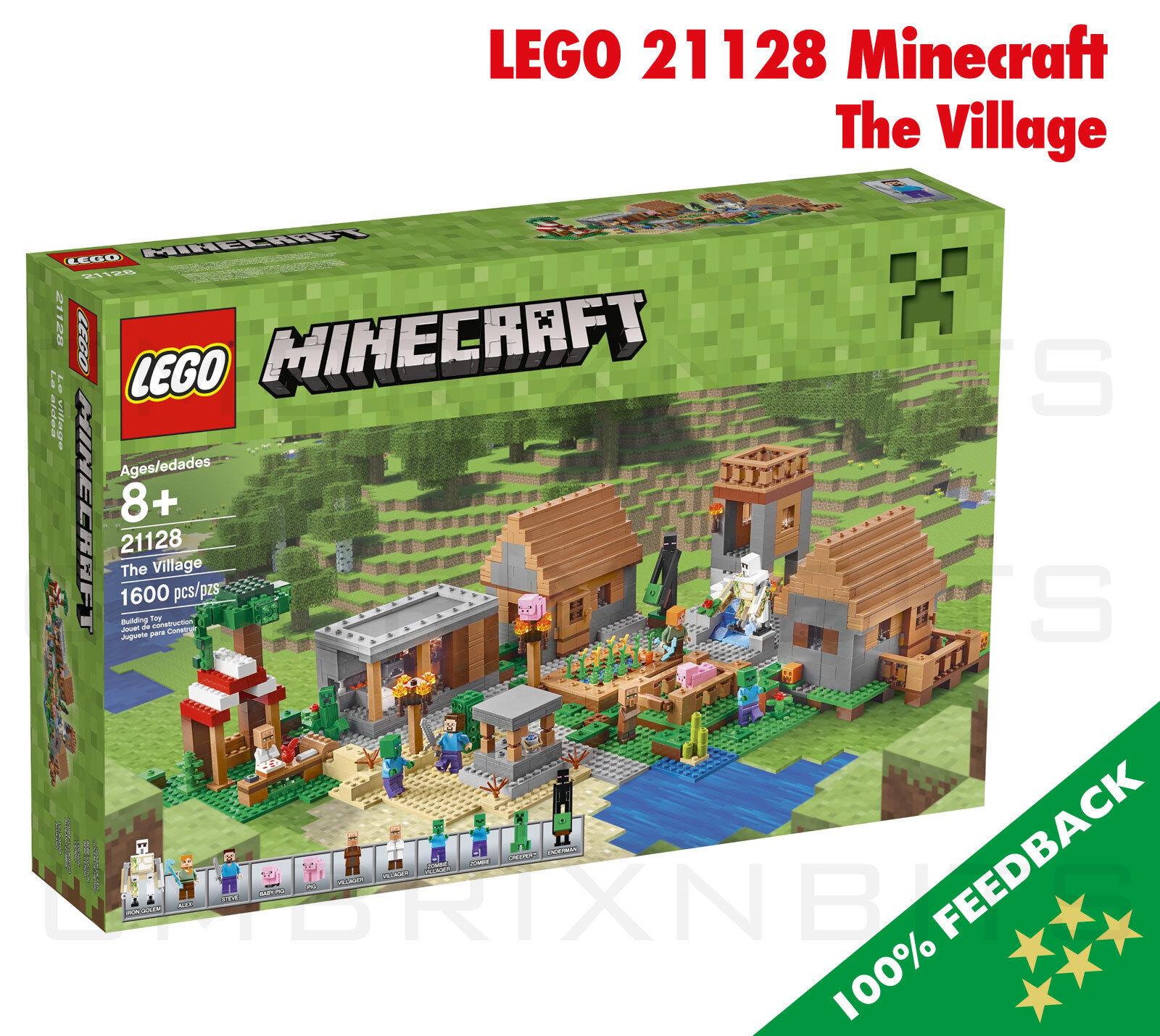 LEGO 21128 Minecraft-Il Villaggio-Sigillato Nuovo di zecca in scatola