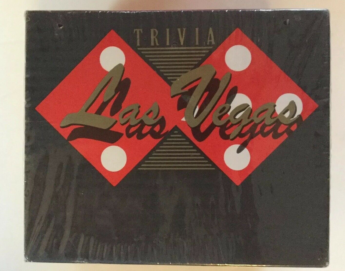 LAS VEGAS VINTAGE TRIVIA DICE FLAMINGO HOTEL MOBSTER TRIVIAL SEALED NEW Free S&H