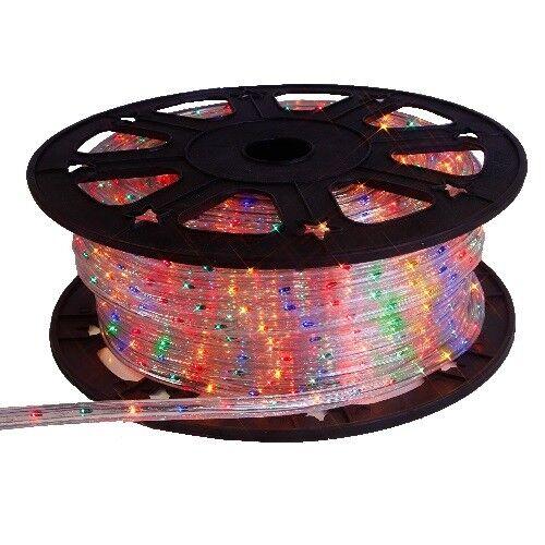 LED Lichtschlauch 45m bunt 12,5mm kürzbar 565-08 Lichterschlauch