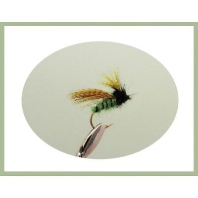 Peeping caddis Tungsten Bead 6 Per Pack Size 10 Fishing Flies Trout Flies