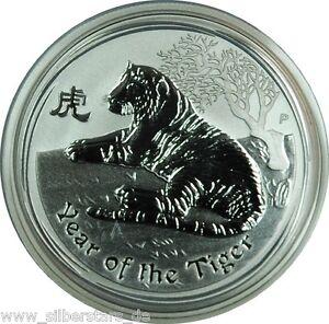 1-2-OZ-999-Silber-Lunar-II-2010-Jahr-des-Tiger