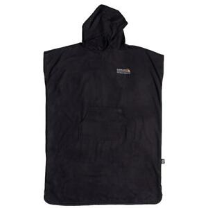 Quiksilver-Neuf-Homme-Minipack-Surf-Poncho-Noir-Neuf