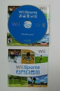 Wii-Sports-With-Cardboard-Cover-And-Manual-Nintendo-Wii-2006-Shipped-Fast