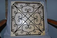 Kirkland's Plaque Metal Wall Art 14 X 14 Scroll
