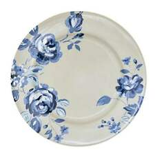 GreenGate Side Plate in Amanda Dark Blue