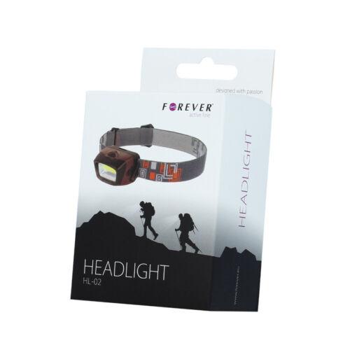 4,5W LED Stirnlampe Kopflampe Headlampe Headlight Jogging Licht Arbeitslampe