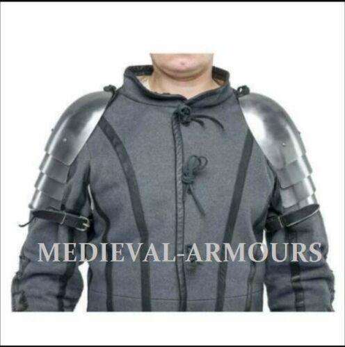 Medieval Steel Pauldrons Spaulders Armor Costume
