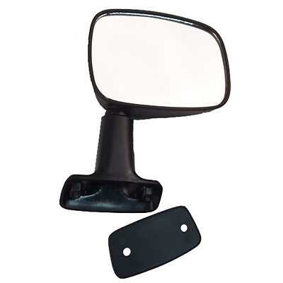 Fits Toyota Pickup Truck 84-86 4Runner Set of Side View Manual Textured Mirrors