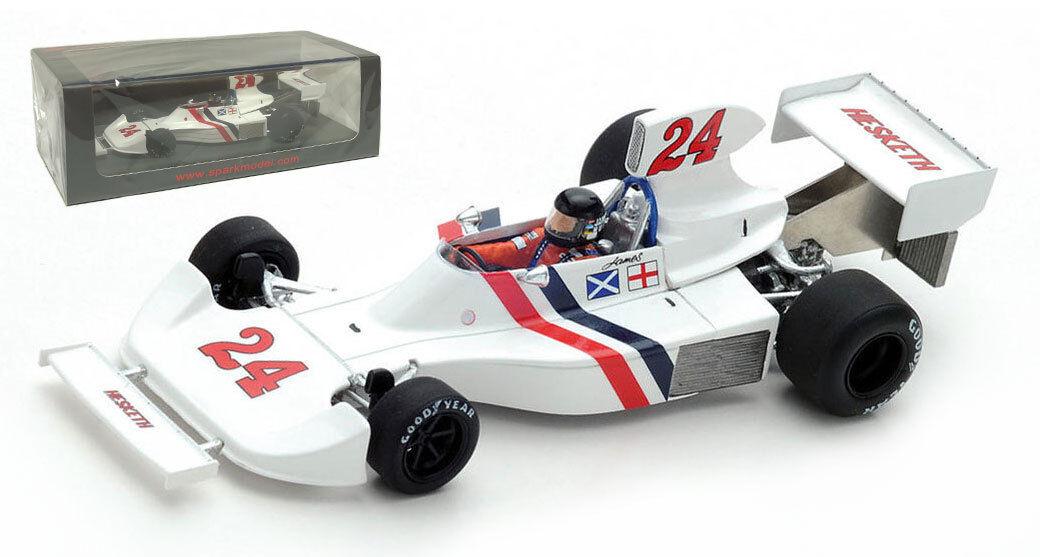 SPARK  S2239 Hesketh 308  24 Winner Dutch Gp 1st Win 1975-JAMES HUNT échelle 1 43  de gros