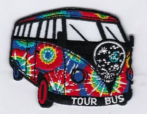 GRATEFUL-DEAD-TOUR-BUS-IRON-or-SEW-ON-PATCH