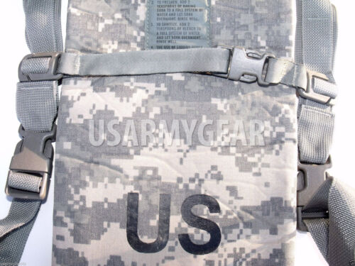 Made in USA ACU Army digital HYDRATION CARRIER 100 oz 3 L Water Bag Back Pack GI