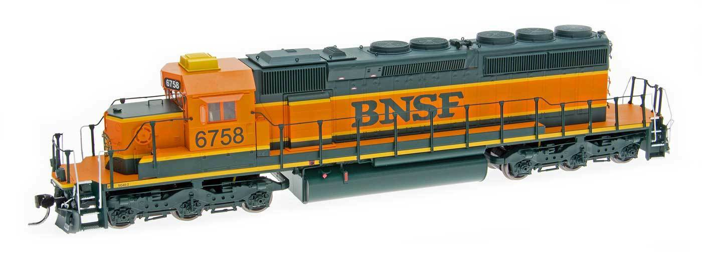 Intermountain HO SD40-2 w DCC and Sound BNSF your choice of number