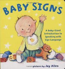 Baby Signs by Joy Allen (2008, Board Book)