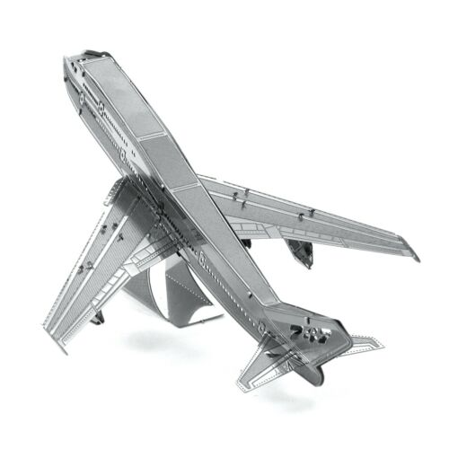 Metal Earth Boeing 747 Airliner Commercial Jet Aircraft 3D Model Building Kit