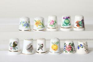 11-Thimbles-Porcelain-From-Fingerhut-Sammlungs-Auflosung-124055