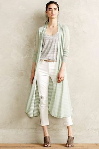 New  S NWT  118 Anthropologie  Eclipsed Stripe Cardigan   Sweater SOLD OUT
