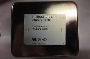 1 PIECE OF SCHAFFNER FN2070-16-06