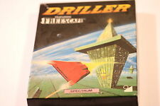 DRILLER FEATURING FREESCAPE - ZX Spectrum Game 48K 128K Incentive Software 1987