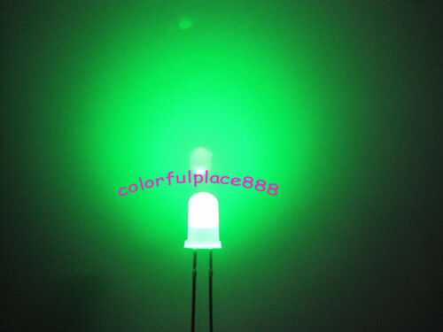 100pcs 5mm Dual Bi Color Polar Changing Red//Green Led Diffused Leds Light Lamp