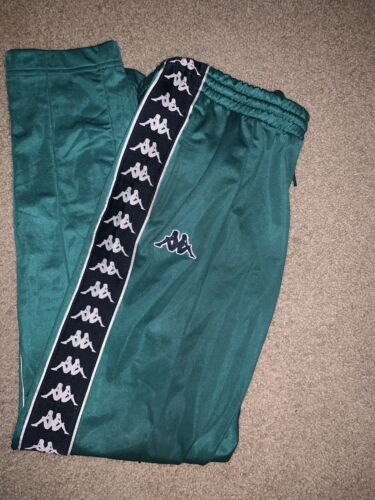 Kappa Red Trackpants Men Size Medium SLIM