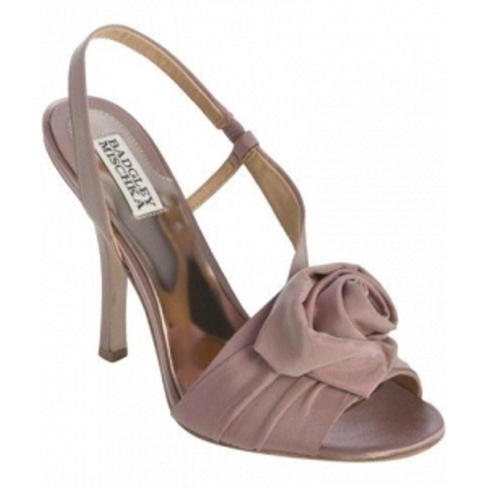 Nuevo En Caja Badgley Mischka Mischka Mischka Lanah Nupcial Tacón Zapatos de la Sandalia Abierta Satén rosadododota rosadododo 7,5 M  la mejor oferta de tienda online