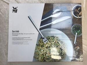 WMF-Besteck-Set-60-teilig-034-Budapest-034-fuer-12-Personen