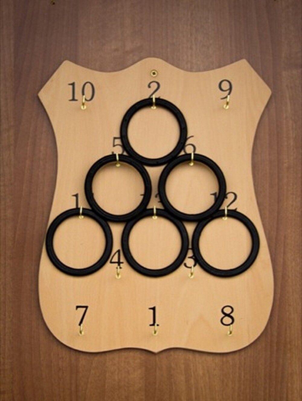 fantastica qualità Rings Traditional Irish tavola tavola tavola gioco   Wooden Ring tavola   Rings gioco Set  al prezzo più basso