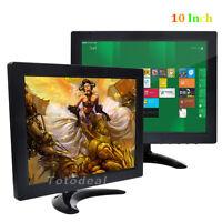 Good 10 Tft Lcd Color Screen Pc Tv Security Cctv Monitor Video Dvr Screen De