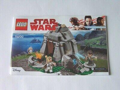 Affidabile Lego ® Recipe/instruction N. 75200-mostra Il Titolo Originale Ricambio Senza Costi A Qualsiasi Costo