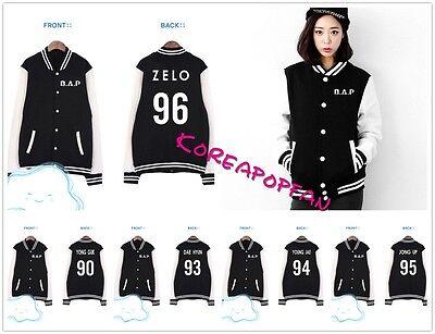 Bap B.a.p youngjae jongup yongguk zelo himchan daehyun Kpop Girl Jacket New