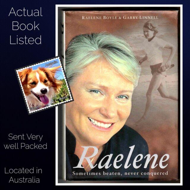 Raelene by Raelene Boyle & Gary Linnell Hardcover Olympics Australia