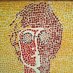 Looks like John Lennon Portrait Tile Mosaic on Board 2ft Beatles Artwork
