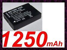 ★★★ 1250 mAh ★★★ Batterie  DMW-BCG10E DMW-BCG10 Pour PANASONIC Lumix DMC-ZS5