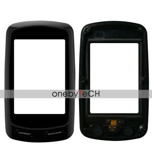 Black-Front-Touch-Screen-Glass-Frame-Bezel-Replacement-For-Garmin-Edge-800-GPS