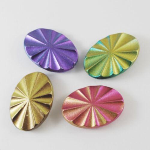 5 perles acrylique acrylic Bead vitre plastique rubber plastique perle 35*24mm
