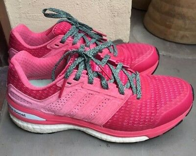 Adidas supernova sequence boost 8 (size 38) womens pink fashion sports shoe  | eBay
