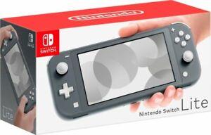 NEW Nintendo Switch Lite Handheld Console - Gray