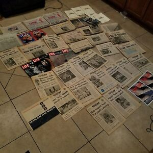 Vintage-Newspapers-Magazine-JFK-RFK-Assassination-Moon-Landing-TIME-Bicentennial