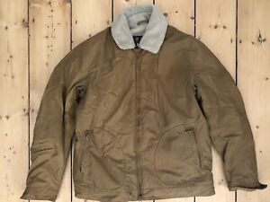 BARBOUR-Steve-McQueen-Trench-Waterproof-Jacket-Size-Large
