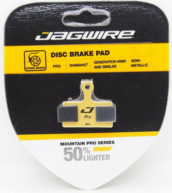 Jagwire Pro Semi-Metallic Disc Brake Pads For Shimano S700 M615 M6000 M785 M80