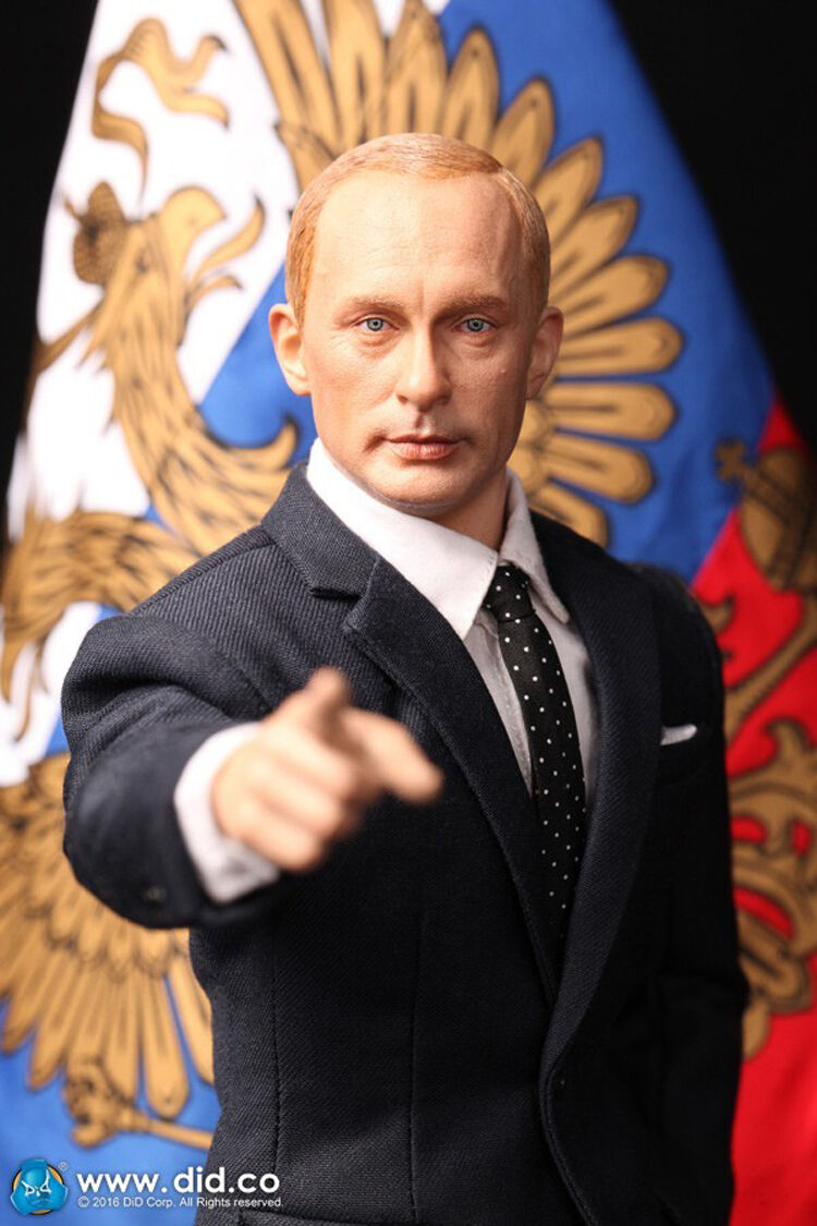 NEW DID 1/6 Russian President vladimir putin Tough guy
