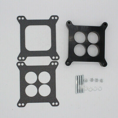 Carburetor Gasket,1 Ported Phenolic Carburetor Spacer Fits for Holley SB Chevy Ford
